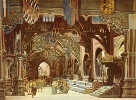 図版15 パリの手本にしたがって描かれたクヴォリオのミュンヘンの舞台