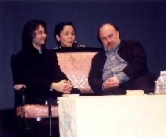 序幕1場「3人のノルンの語り」を唄う(左から)中杉知子氏、小山由美氏、緑川まり氏